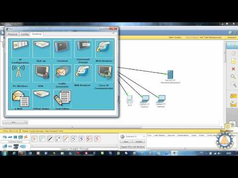 Packet Tracer CISCO CCNA - Aula 2 - CASCATEAMENTO DE SWITCH e SERVER DHCP
