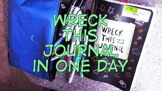 getlinkyoutube.com-Wreck This (Entire) Journal in One Day! | Adrianna Mary-Anne