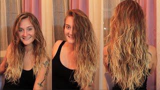 getlinkyoutube.com-Islak Görünümlü Saç Nasıl Yapılır? Stil Baykuşu