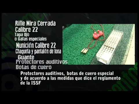 Turorial tiro deportivo - Rifle 3x40 y 3x20