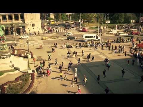 Una Saga Serbica - Flash mob na Trgu Republike u Beogradu