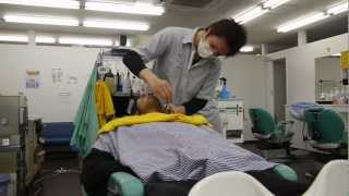 getlinkyoutube.com-Japan, How it is - Getting a Shave
