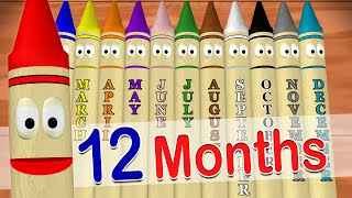 getlinkyoutube.com-Calendar Crayons Teach Months of the Year
