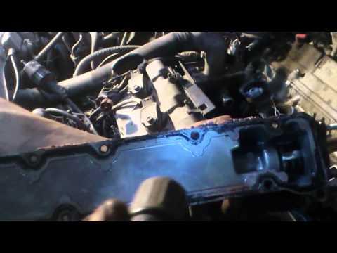 Lexus RX 300 1MZ-FE снятие коллектора и устранение течи антифриза