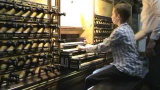 getlinkyoutube.com-Bach Toccata and Fugue BWV 565 Hinszorgel - Bovenkerk - Kampen, gespeeld door Gert van Hoef
