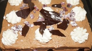 getlinkyoutube.com-Gâteau d'anniversaire facile et rapide (CUISINERAPIDE)