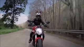 getlinkyoutube.com-รีวิว Ducati Monster 821 จากการขี่จริง
