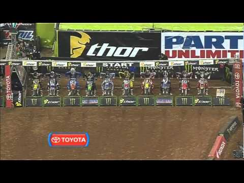 AMA Supercross 2011 RD6 Houston 450 Main Event 1/2