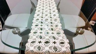 getlinkyoutube.com-Camino de mesa#1flores de noche buena🎄 en crochet