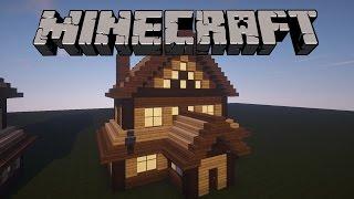 getlinkyoutube.com-Minecraft: Ahşap Ev Yapımı