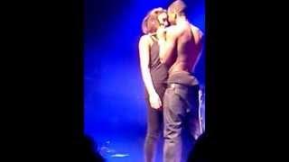 getlinkyoutube.com-Trey Songz brings a girl on stage Brussels 23/01/2013
