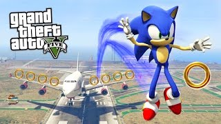 getlinkyoutube.com-GTA 5 Mods - ULTIMATE SONIC THE HEDGEHOG MOD!! GTA 5 Sonic Mod Gameplay! (GTA 5 Mods Gameplay)
