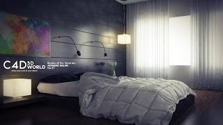 getlinkyoutube.com-Cinema 4d tutorial : vray lighting, render settings and post production