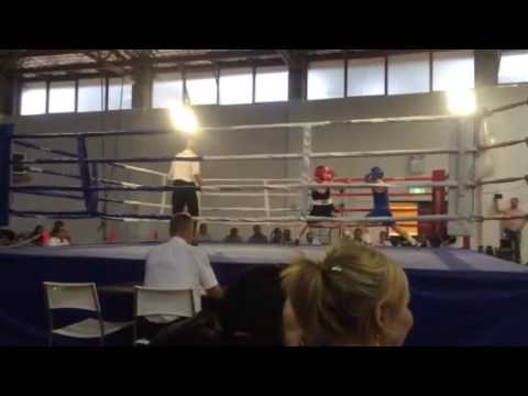 Afghan Hazara boy boxing in Australia
