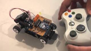 getlinkyoutube.com-robot remote command test: xbox + xbee + arduino