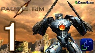 getlinkyoutube.com-Pacific Rim:The Video Game Android Walkthrough - Gameplay Part 1 - Missions 1,2,3
