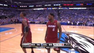 2011 NBA Finals Miami Heat V Dallas Mavericks Game 4