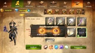getlinkyoutube.com-Hack de dungeon hunter 4 2015