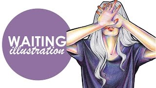 getlinkyoutube.com-Copic Marker Illustration - Waiting