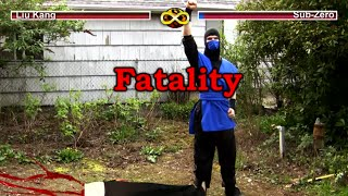 REAL MORTAL KOMBAT - Video Game Flaws (MK Parody)
