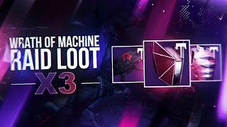 wrath of the machine mode loot table