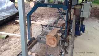 getlinkyoutube.com-Snik chainsaw mill video 1