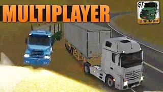 getlinkyoutube.com-Grand Truck Simulator - Comboio e Acidente no Multiplayer