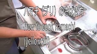getlinkyoutube.com-ハマチ(ブリ)のさばき方 How to cook hamachi (yellowtail) sashimi Japanese food