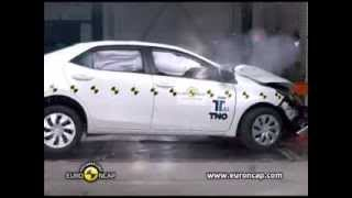 getlinkyoutube.com-CRASH TEST Euro NCAP Toyota Corolla | 2013 | Crash Test