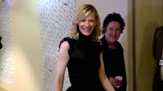 getlinkyoutube.com-Cate Blanchett and Rooney Mara inside the Palais des Festivals in Cannes