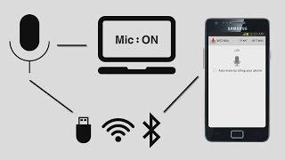 getlinkyoutube.com-حول هاتفك الى مايك لحاسوبك | WO Mic App