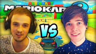 "getlinkyoutube.com-""Ali-A & TheDiamondMinecart!"" - NEW Mario Kart 8 DLC! :D"