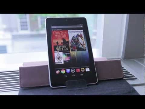 Meet the Nexus 7 by ASUS - 7in quad core Android 4.1 Jelly Bean tablet