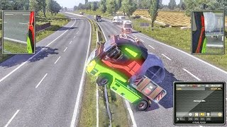getlinkyoutube.com-ETS2 Multiplayer   Idiots on Road #3 (Euro Truck Simulator 2 Multiplayer)