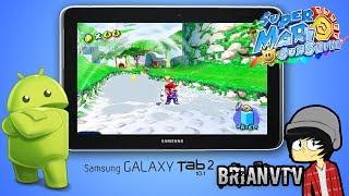 "getlinkyoutube.com-Playing Super Mario Sunshine on Android Tablet ""Samsung Galaxy Tab 2 10.1"""