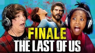 getlinkyoutube.com-THE LAST OF US: FINALE (Teens React: Gaming)