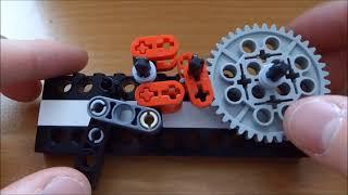 getlinkyoutube.com-Lego Semi Auto Gun Mechanism Tutorial