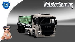 getlinkyoutube.com-Euro Truck Simulator 2, ETS 2 Mods Reviews SCANIA Pzinha by ROBSON LINHARES│NetstocGaming