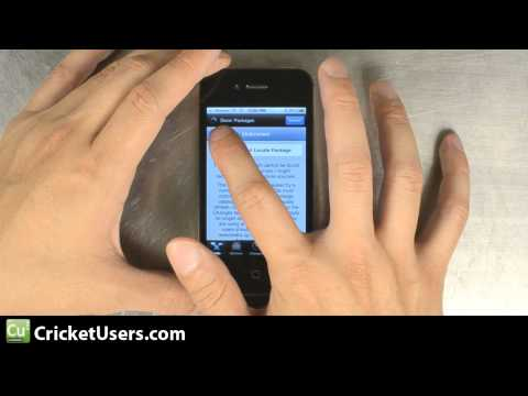 CricketUsers.com - Part 1 iPhone 4 Flash Tutorial for Cricket Wireless (talk,text,Internet,MMS)
