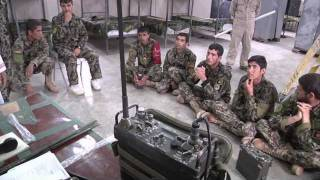 getlinkyoutube.com-U.S. Army conducts RADIO OPERATOR class for Afghan soldiers