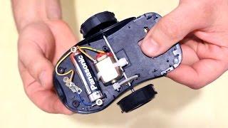 getlinkyoutube.com-Как сделать машинку из старой мышки