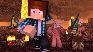 getlinkyoutube.com-Minecraft - 10 Curiosidades Sobre o Zombie Pigman !!