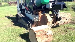 getlinkyoutube.com-Hydraulic Chainsaw