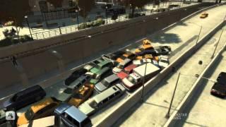 getlinkyoutube.com-GTA IV Traffic Crash
