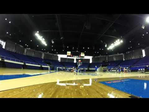 Middle Tennessee Lady Radier Basketball 1st Practice of the 14-15 Season