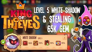 getlinkyoutube.com-King of Thieves: Level 5 White Shadow (Foreseer) + Stealing 65k Gem