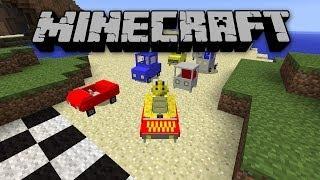 getlinkyoutube.com-Minecraft CARS AND DRIVES