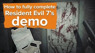 getlinkyoutube.com-Here's how to fully complete the Resident Evil 7 demo and solve all five murders
