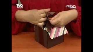 getlinkyoutube.com-¿Cómo hacer una Caja para Cupcake? (METVC)