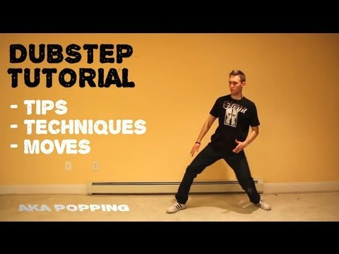 How To DUBSTEP Dance Tutorial | Robotic Popping